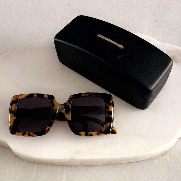 8901965707d Karen Walker Accessories - Karen Walker Betsy Sunglasses in Crazy Tort